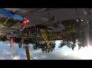 Аттракцион Взлёт, парк Горького, Харьков. Air Race Attraction, Gorky Park, Kharkov