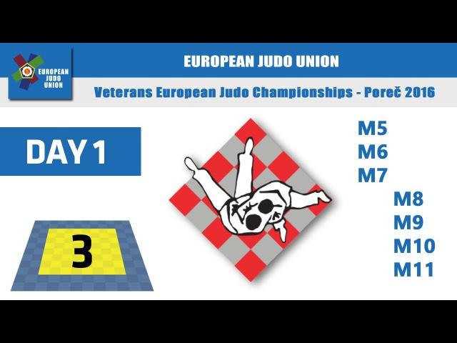 Veterans EJC 2016 Porec - day1 - Mat 3