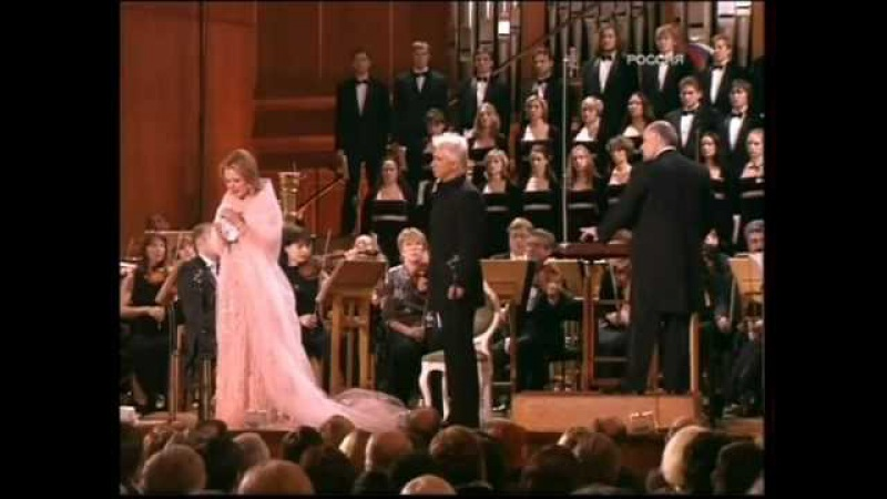 Dmitri Hvorostovsky and Renée Fleming, Moscow, 06.02.2006 (part 1)