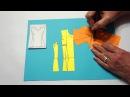 Оформление нагрудной боковой вытачки с разными растворами