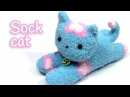 DIY crafts: SOCK CAT - Innova Crafts
