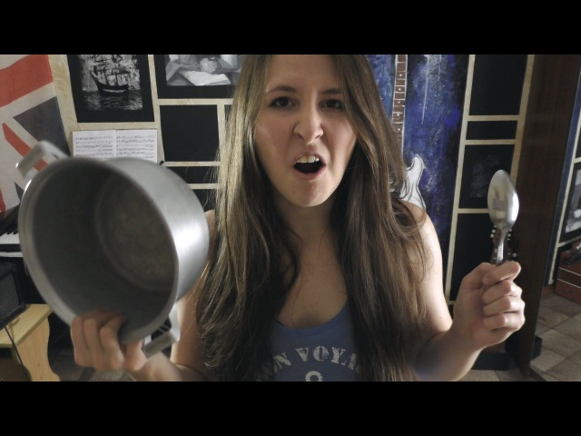 St. Anger - Metallica (pan'n'spoon cover by Lady Chugun)