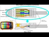 Как обжать интернет кабель. Распиновка RG45