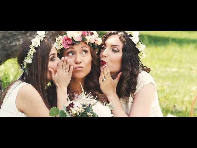 Свадебный ролик Юли и Андрея. Ukraine-belarus wedding in Kiev.