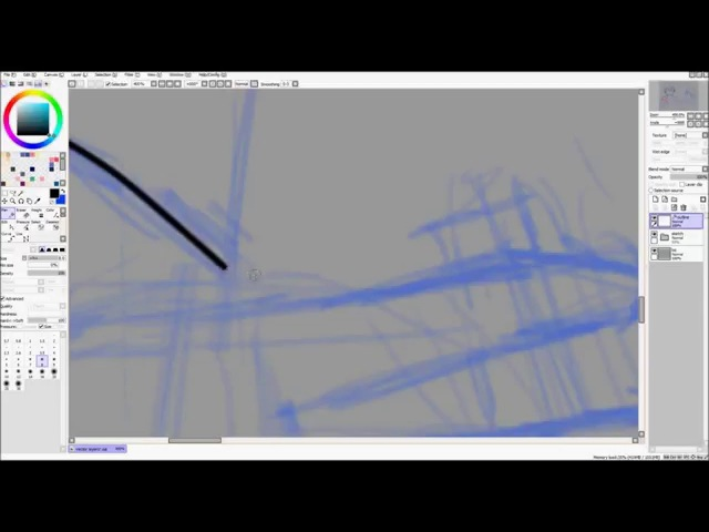 Intro to Paint Tool SAI - Linework/Vector Layers