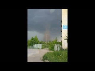 В Кировоградской области появился огромный торнадо