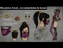 Mortal Kombat X - Kitana and Mileena Fatal Gemini Pack - FAN MADE Concept Art