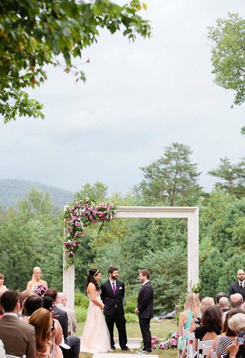 5N8PTPNIpP8 - Арка для выездной свадебной регистрации брака (6 фото)