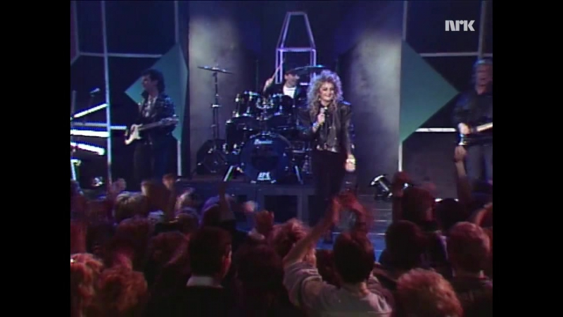 Bonnie Tyler - Hide Your Heart (Norway TopPop, 29.04.1988) TV.NRC☆★☆★☆