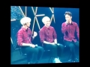 140412 EXO Hello! Greeting Party - Kai sock when SuHo dance