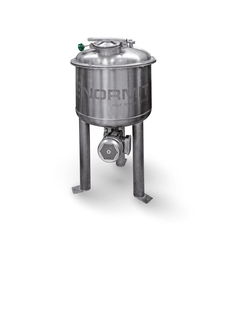 Реактор с мешалкой DA - NORMIT , емкость с мешалкой