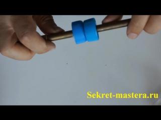 Как сделать пневмо пулемет своими руками ( Рябиномет)