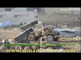 T-90 Tanks in intense offensive battle for Northern Aleppo February 2016