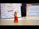 Восточная Красавица Дина - прошла во Финал Мини Мисс город невест не без; сим танцем!!