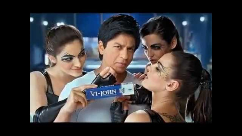 Shah Rukh Khan 2011 Sexy Hot new Shaving Cream advert