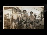 Vintage Muscle Men Posing