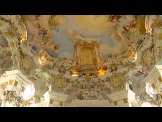 Wieskirche im Algäu. В эту деревушку стоит съездить посмотреть просто на наше мироздание. Совершенно чёткое и истинное изображен