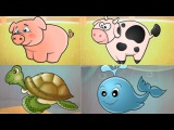 Learn About Sea Animal | Learn Domestic Animals Sounds For Kids, Toddlers | Educational Games