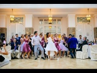 Свадебный танец флешмоб. Петербургские жених и невеста
