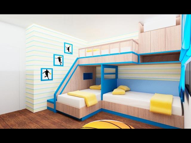 30 идей для двухъярусных кроватей