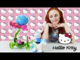 Хеллоу Китти (Hello Kitty) принц на белом коне и волшебное яблоко принцессы. Мультик с игрушками
