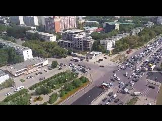 Затор на пересечении проспектов Богенбай батыра и Сарыарка