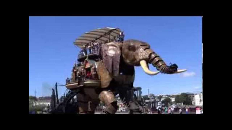 Le Grand Éléphant (Le Voyage à Nantes) - A GRAND ELEPHANT RIDE !
