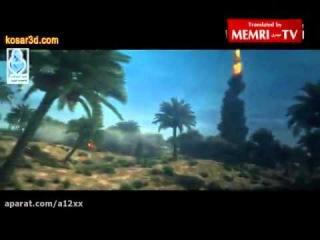 Iranian Animation Simulates Yemeni Missile Attacks on Saudi Oil Fields, Military & Civilian Targets