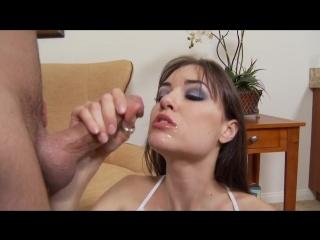 Sasha grey саша грей блондинка в очках вся в сперме жесткое порно порево порнушка