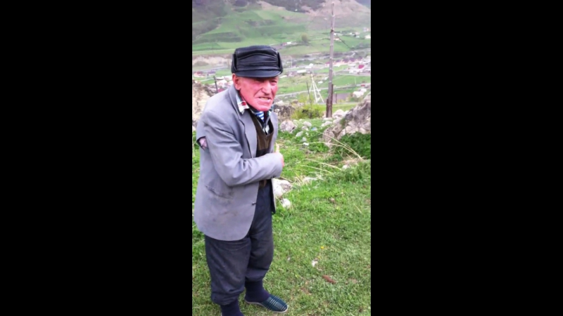 [Криминальный Владикавказ] Дед разгоняет за осетинских ебух