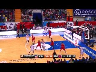 Баскетбол / Евролига 2015-16 / Топ-16 / Группа F / 5-й тур / ЦСКА (Россия) - Бамберг (Германия)