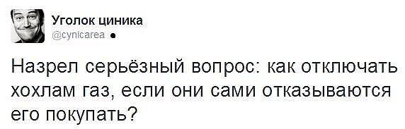 """""""Цена, которую диктует РФ, экономически невыгодна. Точка"""", - Насалик о возможности импорта российского газа в Украину - Цензор.НЕТ 814"""