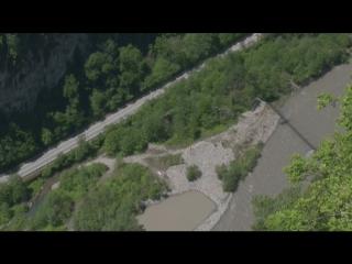 Осипов Александр. Прыжок в ущелье на 207м в SkyPark. (Вид с камер) #НикомуНеИнтересныйТрип