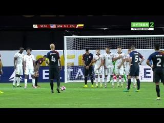 Копа Америка 2016. Матч за 3-е место. США - Колумбия (2 тайм)