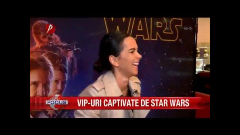 Inna Alexandra Stan Delia Matache Adi Sână la avanpremiera noului Star Wars