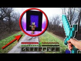 ТОП 5   Майнкрафт в реальной жизни. Minecraft in real life