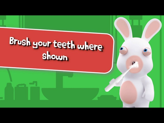 Kolibree x Rabbids Smart Brush game by Ubisoft EN
