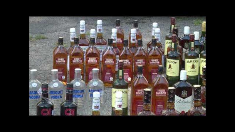 Поліція вилучила півтисячі літрів елітного алкоголю