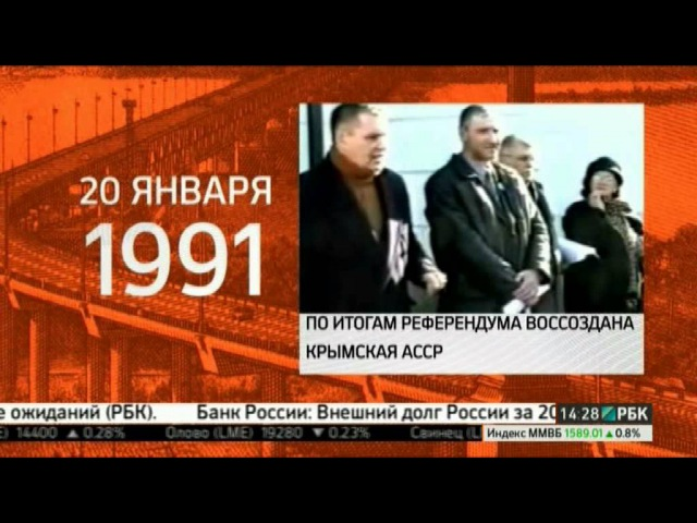 Крымский референдум 20 января 1991 года о воссоздании Крымской АССР.