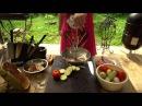 Стейки в тандыре с овощной елочкой