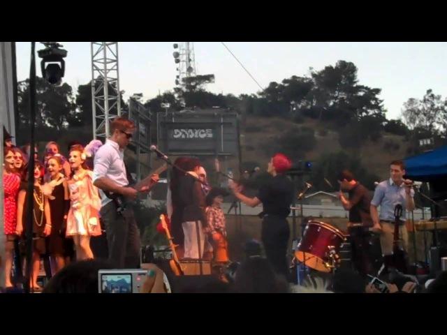 Dead Man's Bones 04 September 2010 FYF festival Los Angeles CA