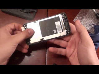 Lenovo A390 замена тачскрина_ touchscreen replacement