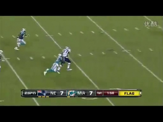 Patriots vs Dolphins 2011 1st Half