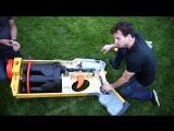 Бывший инженер NASA собрал гигантский игрушечный бластер