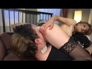 Порно - Жёсткая доманицая Mona Wales над мужиком - [Divine Bitches] (2016)