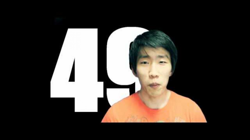 Boring Korean Numbers Video (Native Korean) | 하나, 둘, 셋, 넷...