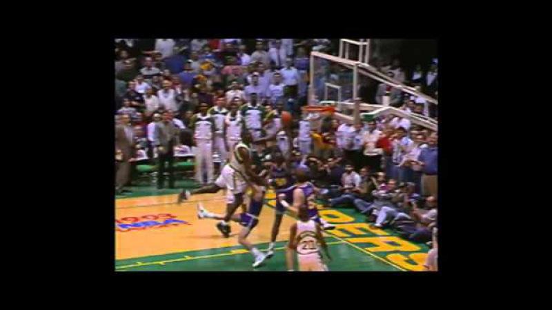 NBA 1992-93 / PlayOff / 08.05.1993 / Utah Jazz - Seattle SuperSonics / WC1R / G5