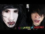 100 Layers Of Piercings | Johnnie Guilbert + Social Repose