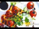 Полента с печеными помидорами и козьим творогом Рецепт от Гордона Рамзи