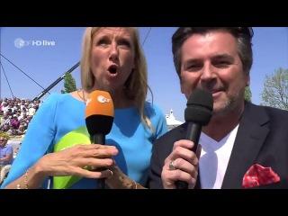 Thomas Anders Modern Talking Hit Medley ZDF Fernsehgarten 08 05 2016